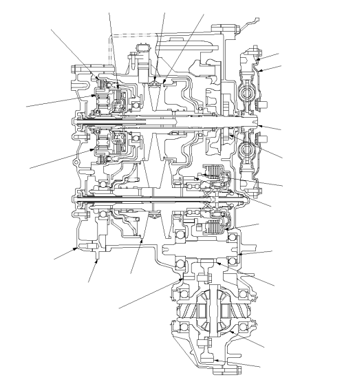 small resolution of vista transversal de la caja de cambios