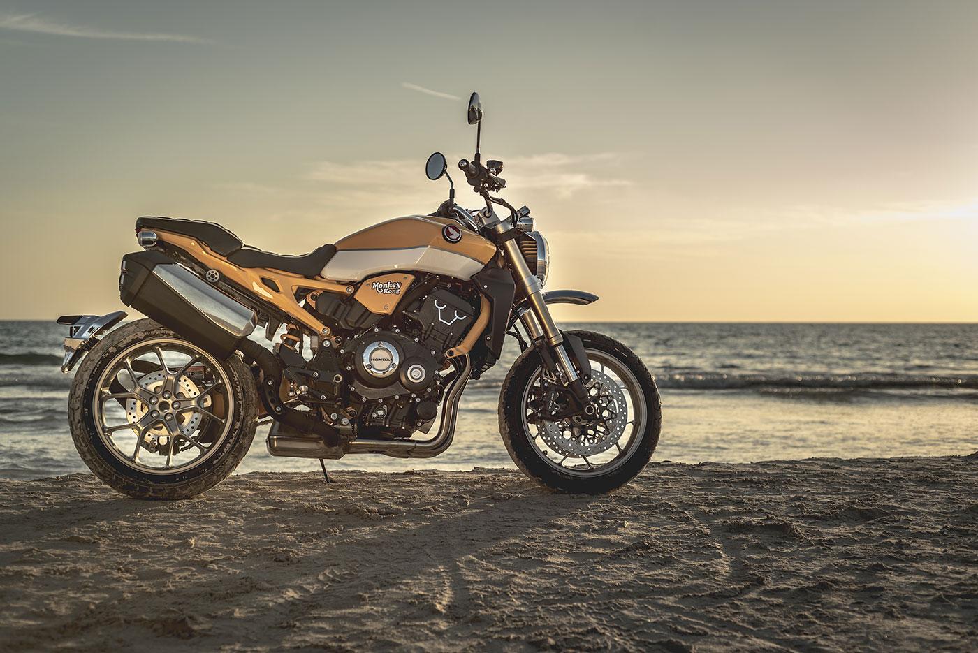 Monkey Kong. Honda Mallorca Motos