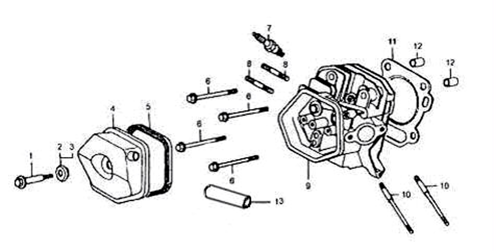 Honda Gx340 Engine Diagram, Honda, Free Engine Image For