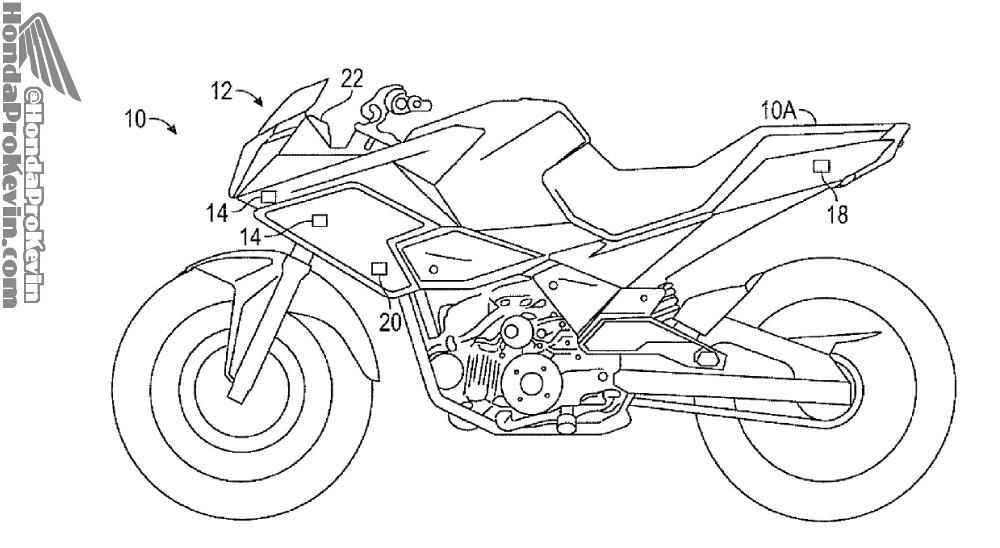 2017 + Honda Motorcycle & CBR Sport Bike Technology