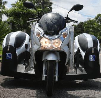 Honda PCX 150 Triciclo