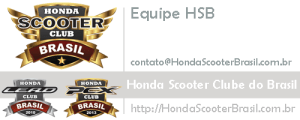 Assinatura Honda Scooter Clube do Brasil - Contato