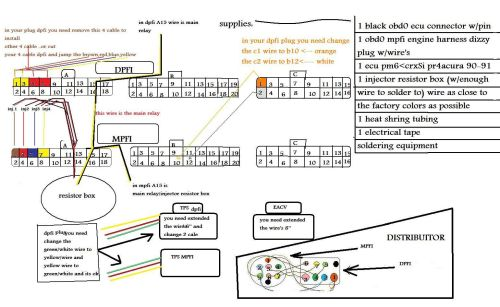small resolution of dpfi to mpfi writeup hondaswap rh hondaswap com fuse diagram on a 86 ford ranger 2
