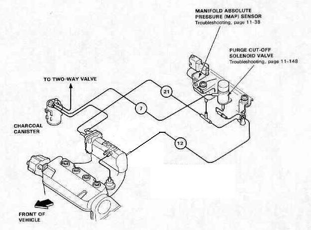 Vacuum Diagram Honda Ef. Honda. Auto Wiring Diagram