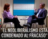 "Cristina Kirchner a Correa: El neoliberalismo ""va a fracasar irremediablemente"""