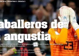La prensa argentina 'llora' y se ve fuera del Mundial