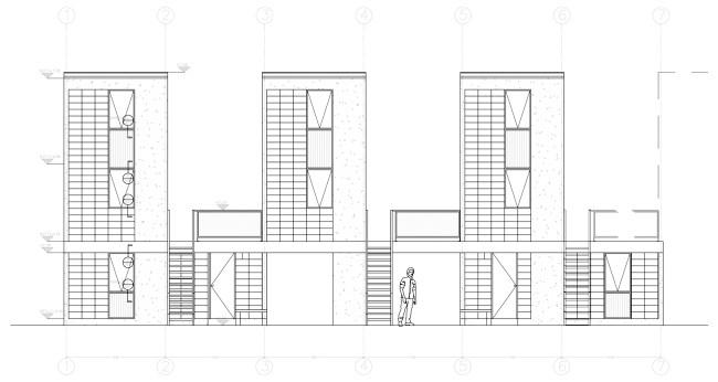 architecture sociale plan croquis elemental iquique