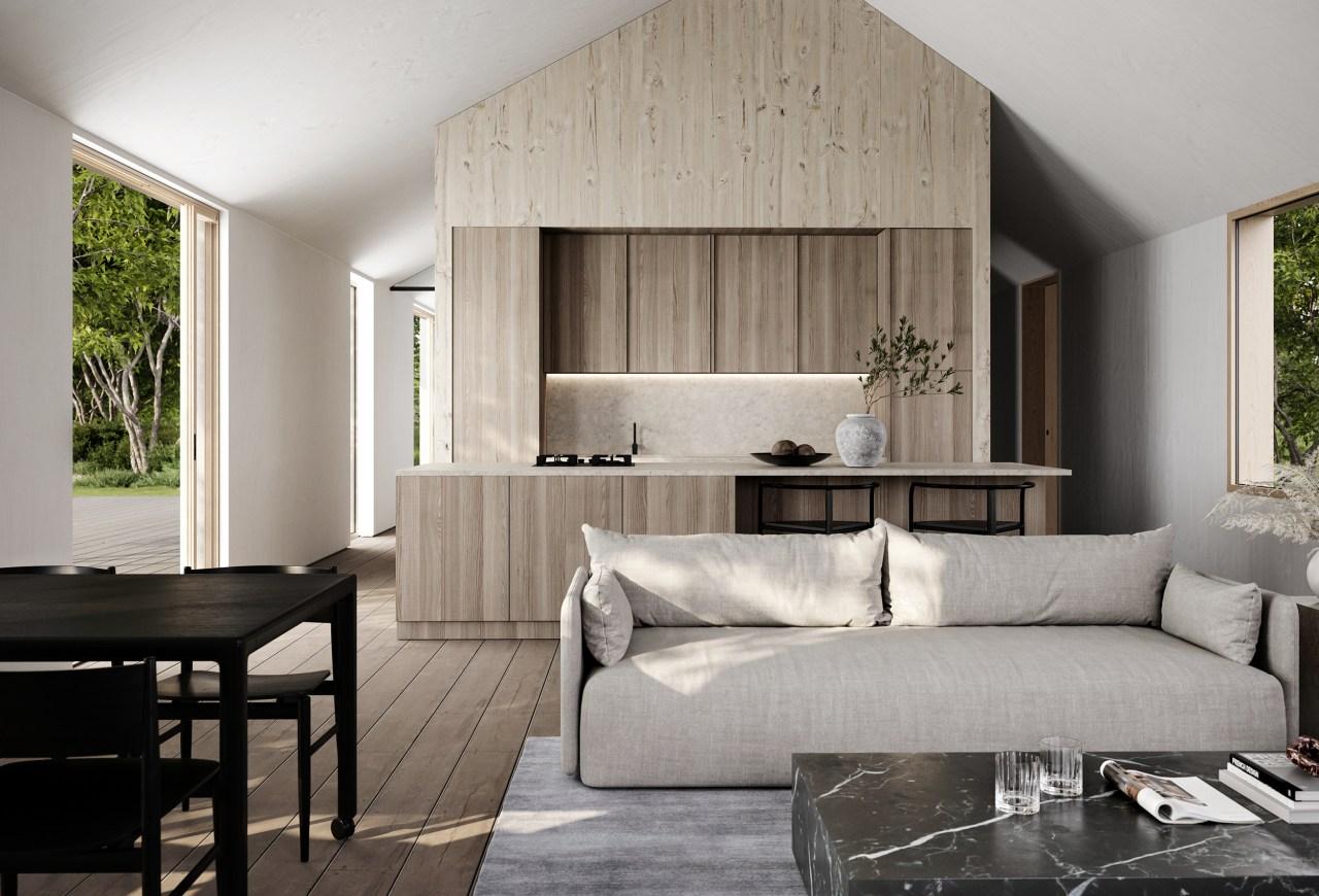 esthétique et responsable cuisine maison honei sim house
