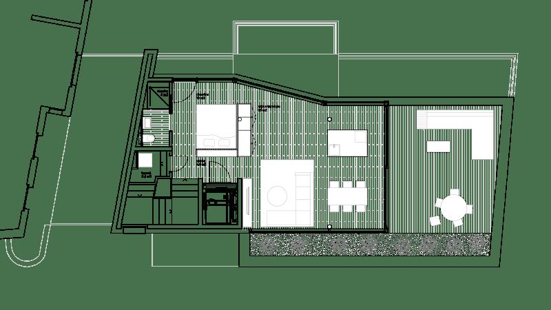 Le penthouse plan