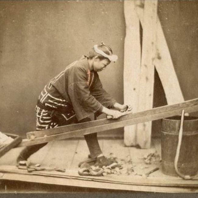 charpentier japonais