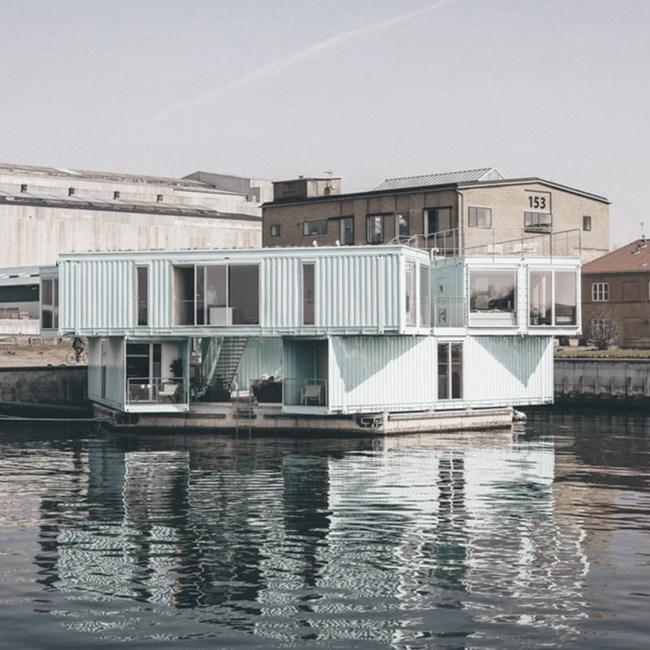 maison container pour la défense de l'environnement