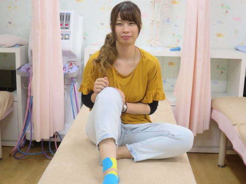 足底腱膜炎テープ