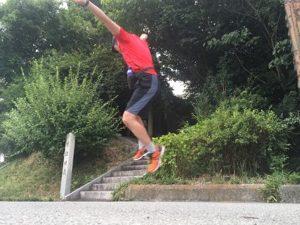 高いジャンプ