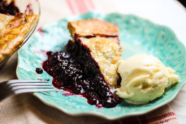 Black Raspberry Pie | Easy Raspberry Pie Recipes On Pi Day