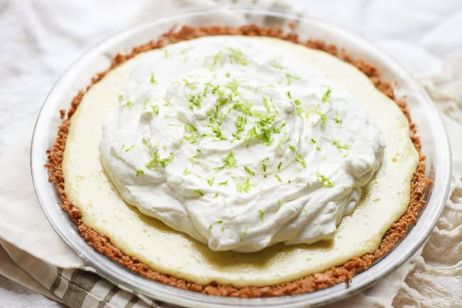 the best key lime pie recipe honest tasty