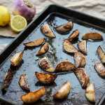 easy roasted turnips with lemon-2