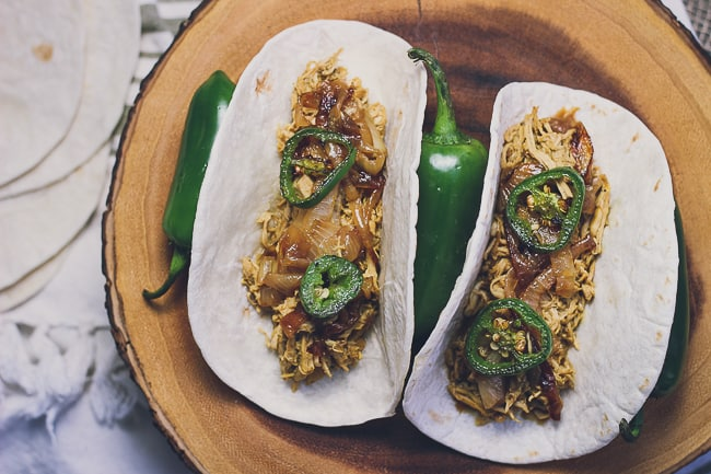 pulled chicken tacos with charred jalapenos-11