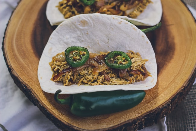 pulled chicken tacos with charred jalapenos-5