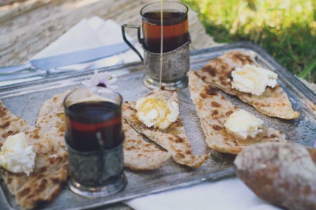 Fresh Cream with Bread & Honey-6