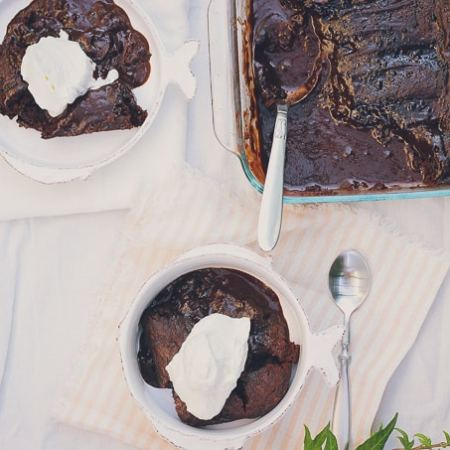 The Best Chocolate Pudding Cake