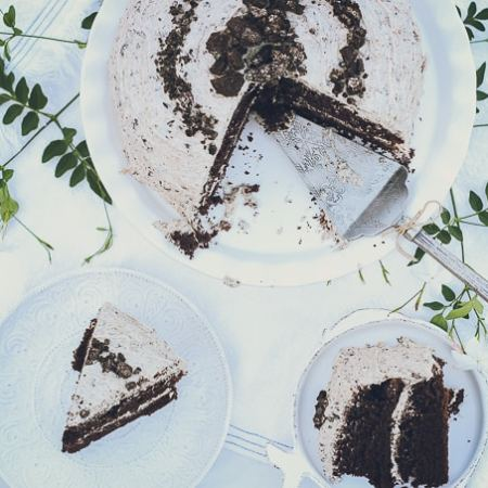 The Best Cookies & Cream Cake