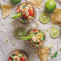 BEST Mexican Shrimp Ceviche Recipe - VIDEO!!