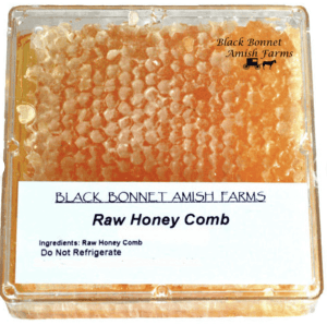 100% Pure Raw Natural Honey Comb Full of Honey in Box 10-14 oz.