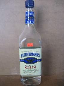 Fleischmann Extra Dry Gin 750ml Honest Booze