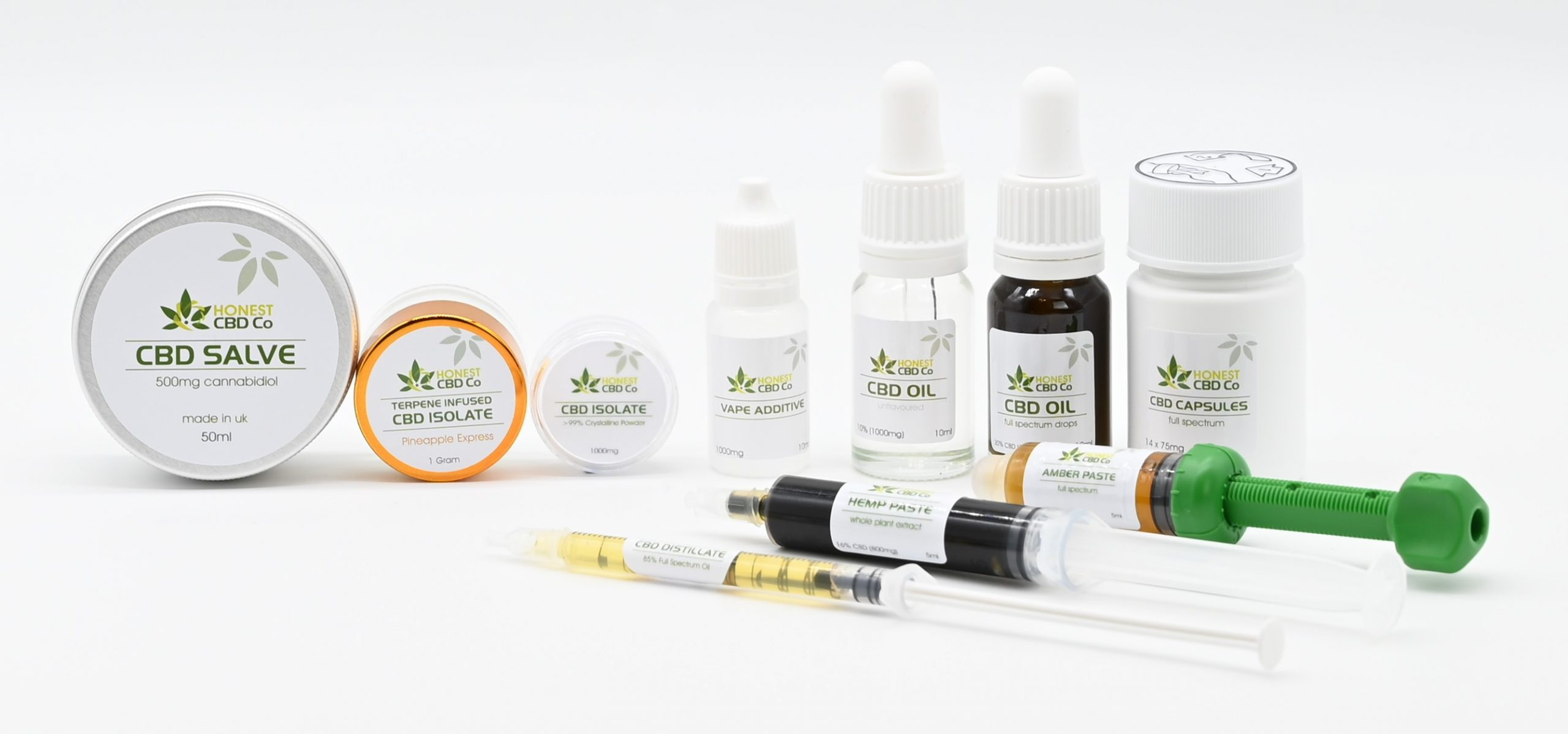 Honest CBD Co - Product Range