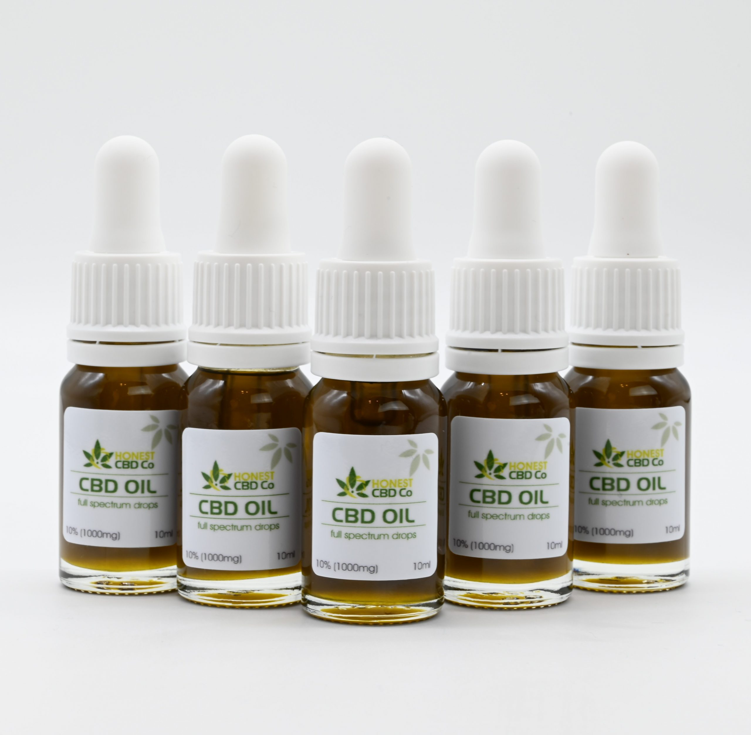 10% Full Spectrum CBD Oil - x5