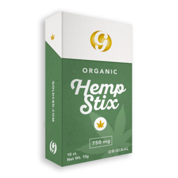 Gold CBD Hemp Stix Pack