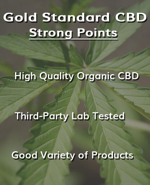 Gold Standard CBD Review [Great Variety of CBD] | Honest CBD