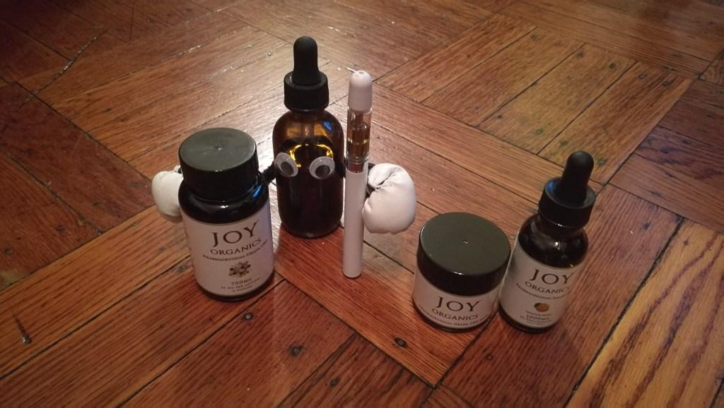 Joy Organics CBD Products