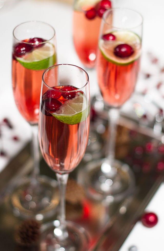 Elegant Cocktails with Spritz  Honest Cooking