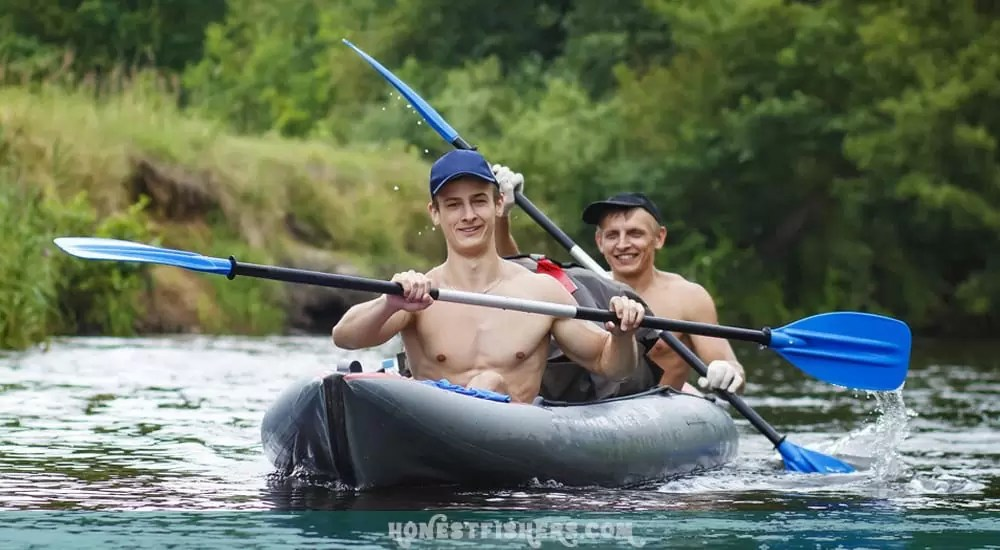 How To Kayak 2 Person