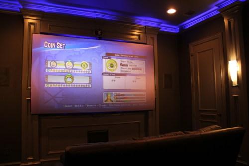 small resolution of projector screen media room dallas tx
