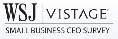Wall Street Journal Vistage Logo Survey CEO