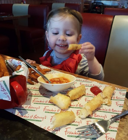 lunch honestk frankie and bennys