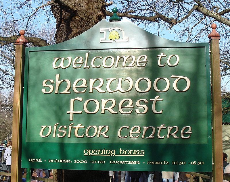 A hike around Sherwood Forest