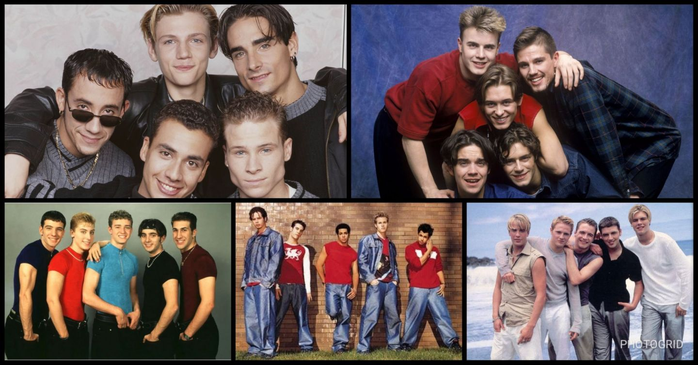 A-Z of 90's Boy Bands