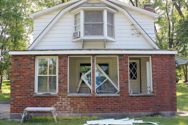 Removing the windows