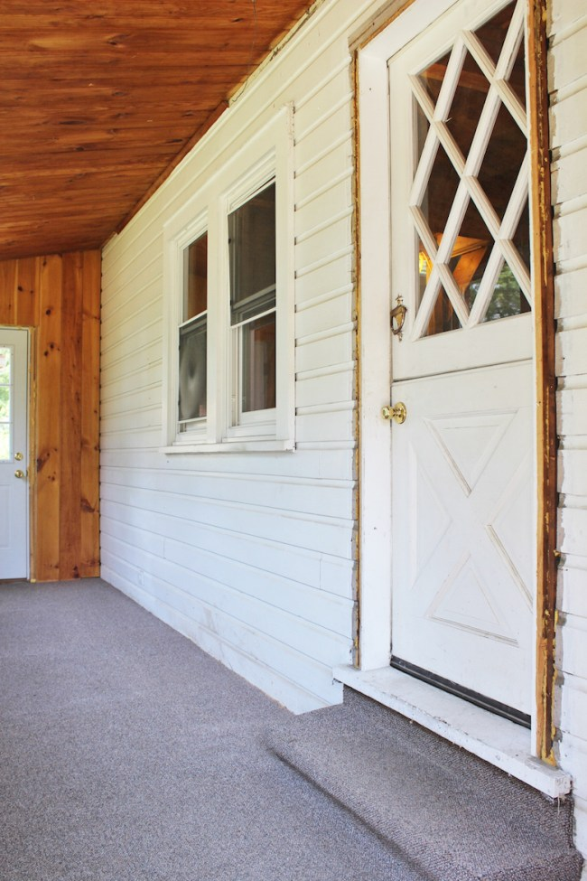 The Entryway before