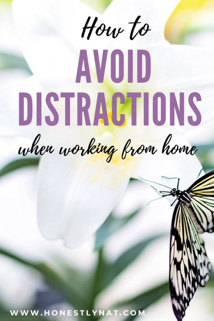 avoid-distractions