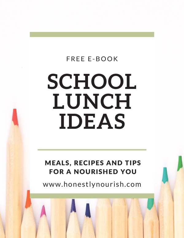 Back to School Lunch Guide