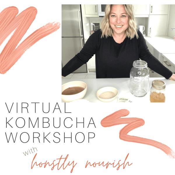 Virtual Kombucha Workshop