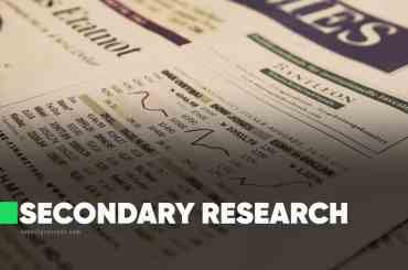 Secondary Research