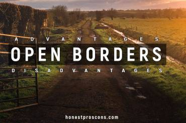 Open-Border Advantages Disadvantages