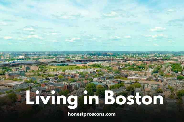 Living in Boston