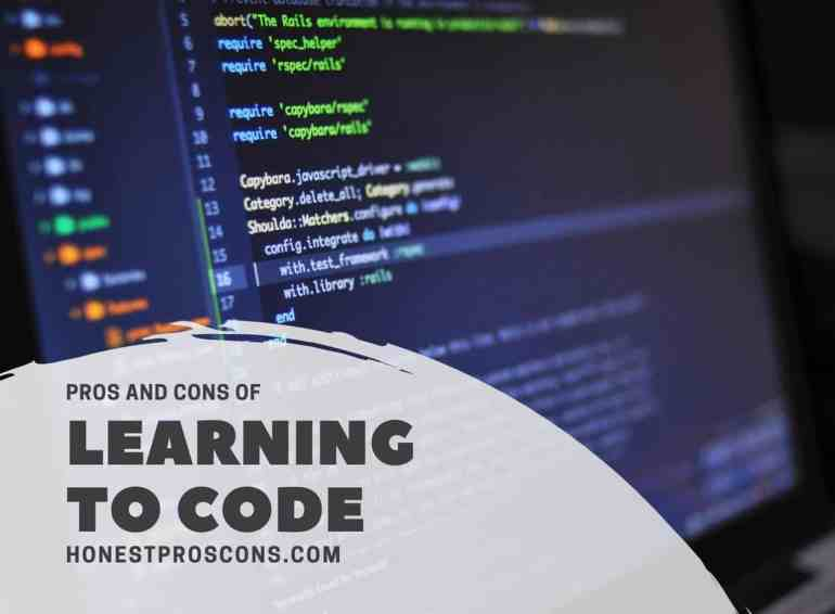 Pros and Cons of Learning to Code