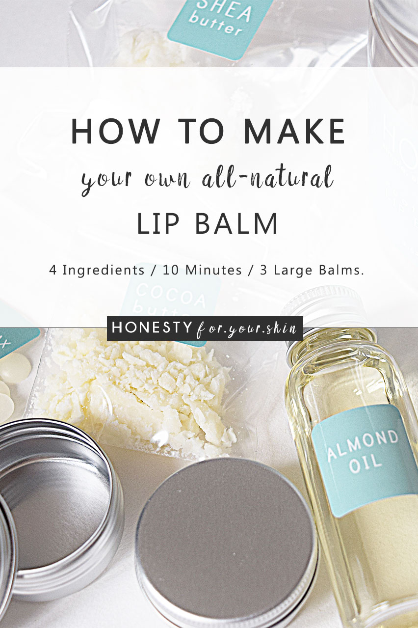 Welcome to your how to make lip balm crash course. Yes this is exactly what this post is all about. If all-natural lip balm is on your to do list, you need to read this. This DIY lip balm recipe is packed with 4 natural ingredients with are fabulous for keeping lips moisturised and softened. Been wondering how to make your own natural lip balm? Click above to read how...